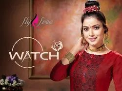 Watch Beautiful Rayon Anarkali Kurtis
