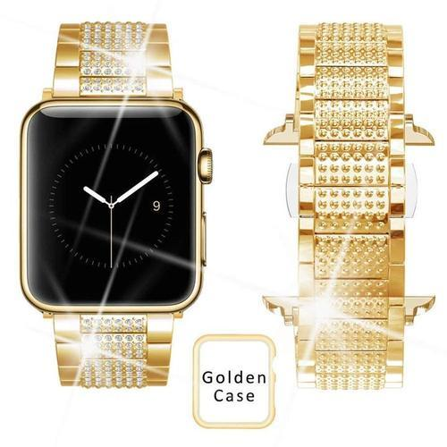 Rhinestone Crystal Band For Apple Watch Series 1,2,3,4 ,38mm