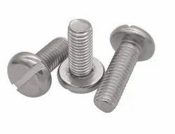 M. B. Stainless Steel Pan Head Machine Screw, Grade: 304, Size: 1-4