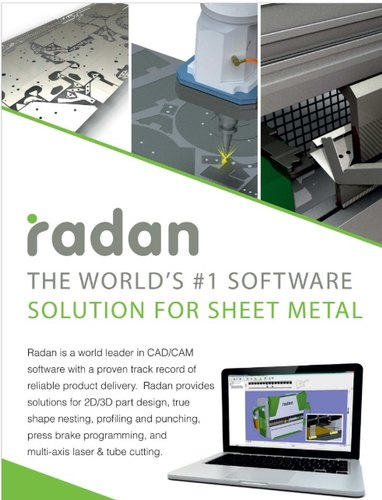 Radan World S Best Cad Cam Nesting Software For Sheet Metal Industry Computer Aided Design Software स एड स फ टव यर Niha Solutions Bengaluru Id 22500508562