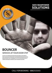 Male Evening Bouncer Services