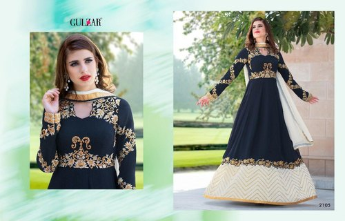 Semi Stitched Mix Bridal Partywear Suits