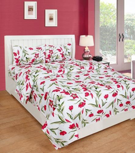 bdfea3c3755 Tradelife 160 TC Polycotton Double 3D Printed Bedsheet ...