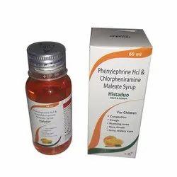 Phenylephrine HCL and Chlorpheniramine Maleate Syrup