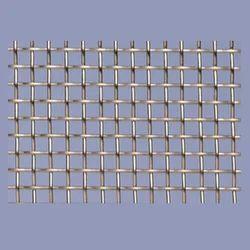 Silver Square Metal Wire Mesh