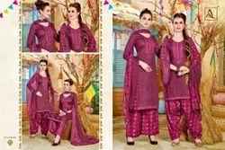 Purple Punjabi Suits