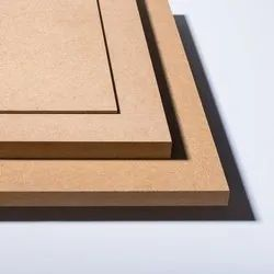 Rubber Wood Whitish Plain MDF Board, Thickness: 1.9 Mm To 25 Mm