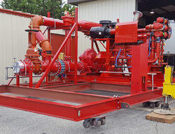 Dual Booster Fire Pump