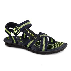 PU Mens Blue Green Sandal