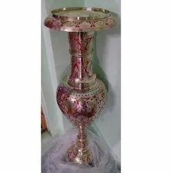 Handcrafted Brass Flower Vase