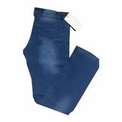 Regular Fit Casual Wear Mens Denim Faded Jeans, Waist Size: 28-40 Inch