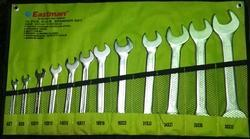 Double Open Ended Spanner (Cold Stamped) 12 PCS Set E-2403