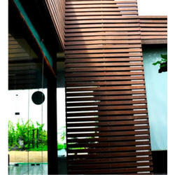 Ado Woods Strip WPC Outdoor Wall Panel, For Commercial and Residential, Thickness: 8 Mm