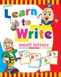 Aditya Learn To Write Small Letter Book