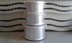 Silver Aluminum Pot, For Kitchen