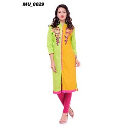 Cotton Base Ladies Kurti