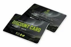 Multicolor Pvc DISCOUNT CARDS