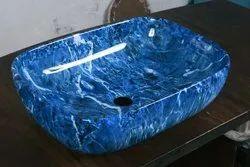 Universe Ceramic Designer Table Top Wash Basin, For Hotel