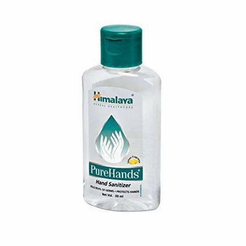 Buy Himalaya Pure Hands Sanitizer Green Apple 50ml Bottle