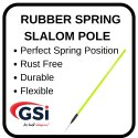 Rubber Spring Slalom Pole