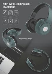 Wireless Headphone And Speaker (2 In One)