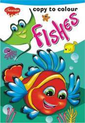 Copy to Colour Fishes