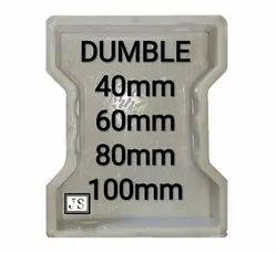 Dumble Silicone Plastic Paver Mould