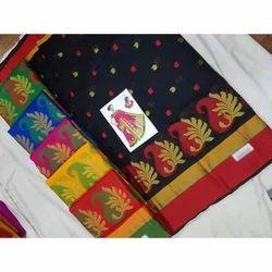 Cotton Printed Saree, Length: 6.3 m