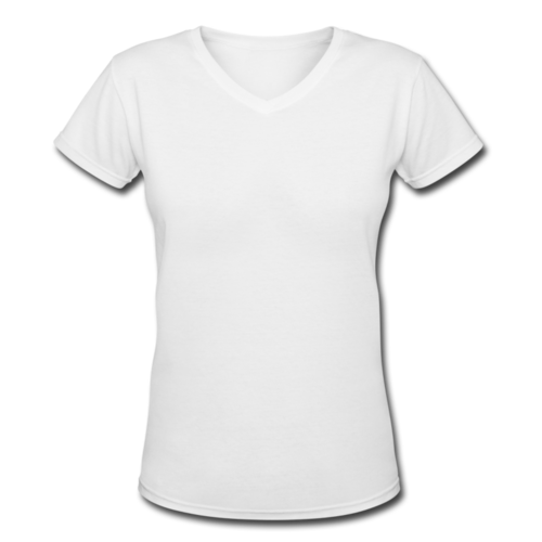021c8af3629 White Ladies V Neck T Shirt, Rs 120 /piece, M. V. Fashion   ID ...