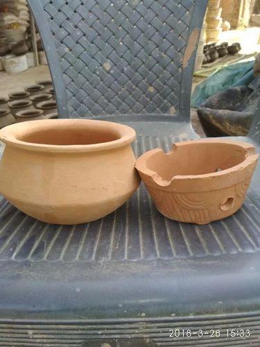 Natural Colour Cooking Pots clay biryani pot, For Cooking Pots And Handi, For clay biryani pots