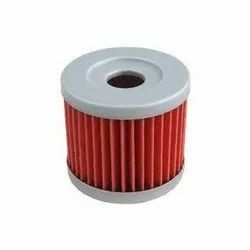 SS, Paper Motorcycle Oil Filter, For Two Wheeler, Automation Grade: Automatic