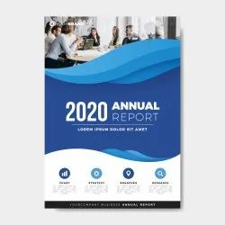 5-6 Days Paper Annual Report Printing Service, Pan India