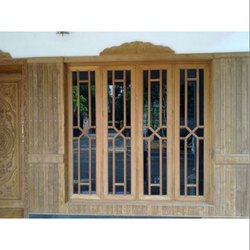 Designer Hardwood Window