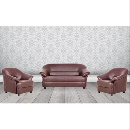 Brown Leather Sofa Set