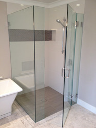 Frameless Glass Shower System