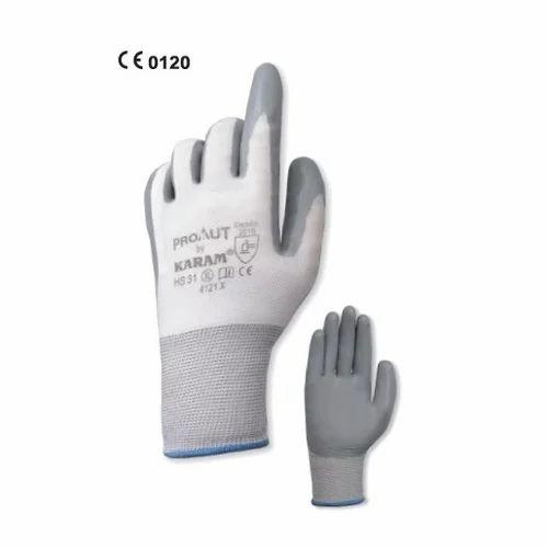 5cef555a13c Grey Nitrile Coating Gloves