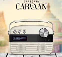 White And Saregama Carvaan