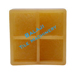 Square Rubber Paver Mould