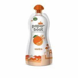 Orange Sugar Paper Boat Santra Juice, Packaging Size: 150 ml, Packaging Type: Packet