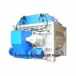 Hydraulic Twin Shaft Mixer