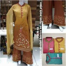 Uppada Silk Suit Material