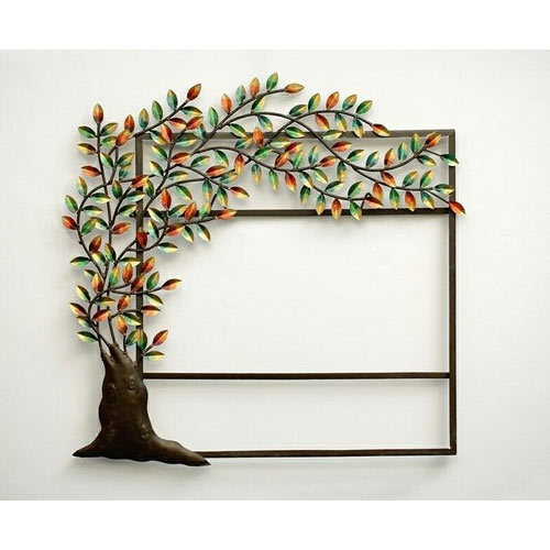 Wall Decor Tree Mirror Unique Iron Handicraft Home Decor 29 1 25 30
