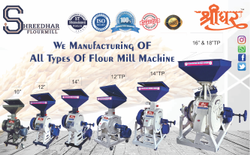 Heavy Duty Flour Mill Machine