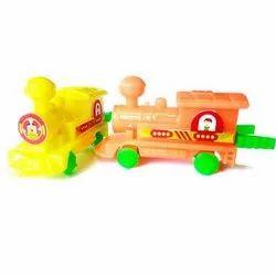 Push Back Spring Train Promotional Toys