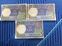 One Rupee Note Signed Montek Singh Ahulawalia