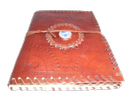 Flower Bound Handmade Stone Leather Journal