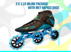 3 x 110 Inline Package with RR7 Rapido Shoe