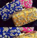 Beautiful Zardosi Box Clutch