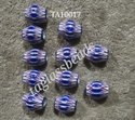 Glass Chevron Beads