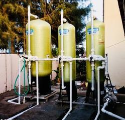 Industrial Water Softener Plant 500